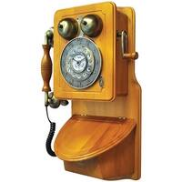 PYLE PRO PRT45 Retro-Themed Country-Style Wall-Mount Phone