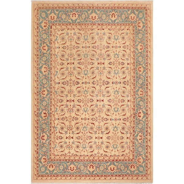 """Boho Chic Ziegler Laurena Hand Knotted Area Rug -8'1"""" x 9'8"""" - 8 ft. 1 in. X 9 ft. 8 in.. Opens flyout."""