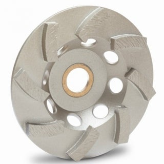 """MK Diamond 172231 Supreme Grade Contractor Turbo Cup Wheel, 4"""""""