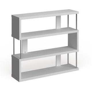 Link to Porch & Den Hanalei Alternating 3-tier Modern Shelf Similar Items in Living Room Furniture
