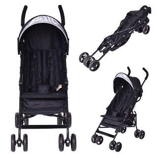 Costway Lightweight Umbrella Baby Stroller Toddler Travel Sun Canopy Storage Basket