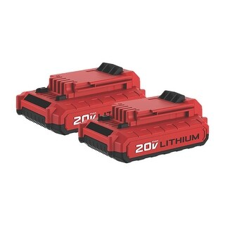 Battery for Porter Cable PCC682L (2-Pack) Replacement Battery