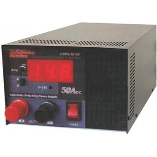 AUDIOP DSPS5012V 50 Amplifier Amp Dc Regulated Power Supply Fan Cooled