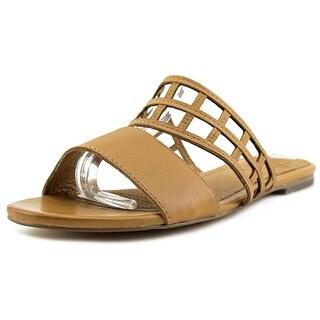 Corso Como Sanibel Women  Open Toe Leather  Slides Sandal