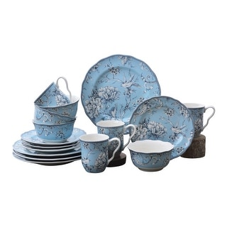 Link to Adelaide Light Blue 16 Piece Dinnerware Set Similar Items in Dinnerware