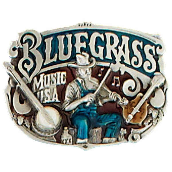 Bluegrass Belt Buckle