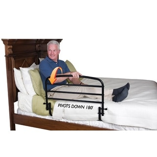 Fold-Down Safety Bed Rail