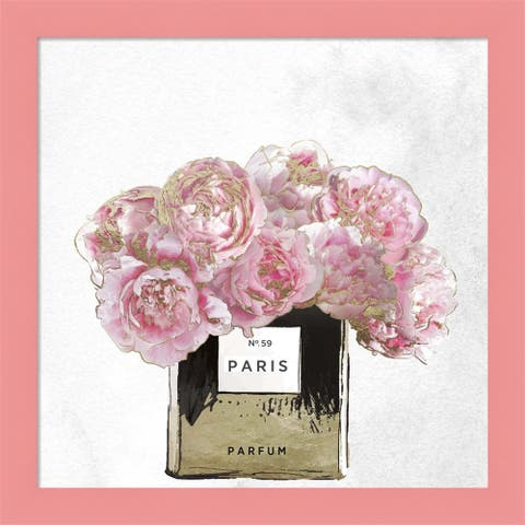 Color Bakery 'Pink Scented' Framed Art