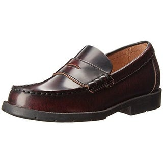 Academie Gear Boys Josh Leather Penny Loafers