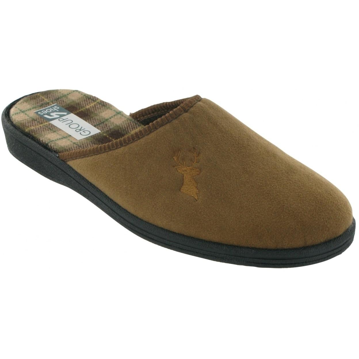 Mirak Shepton Mens Slip-On Slipper//Classic Mens Slippers