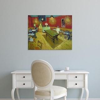 Easy Art Prints Vincent Van Gogh's 'The Night Café' Premium Canvas Art