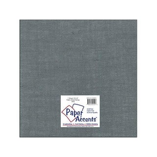 Fabric Sheet 12x12 Burlap Grey 1pc