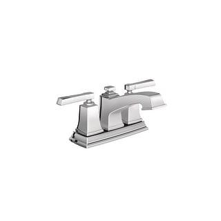 Moen 6010  Centerset Bathroom Faucet with Metal Pop-Up Drain Assembly