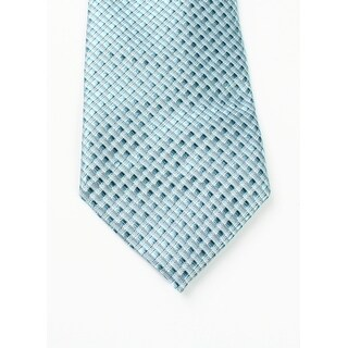 Kenneth Cole Reaction NEW Mint Green Men's Shaded Natte Silk Neck Tie