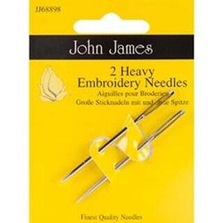 Size 14 2/Pkg - Heavy Embroidery Hand Needles