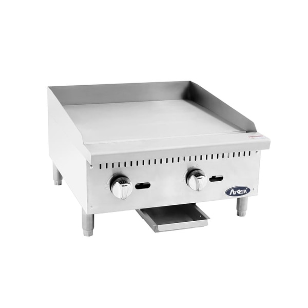 Atosa ATMG24 24 Inch Wide Commercial Gas Griddle - N/A