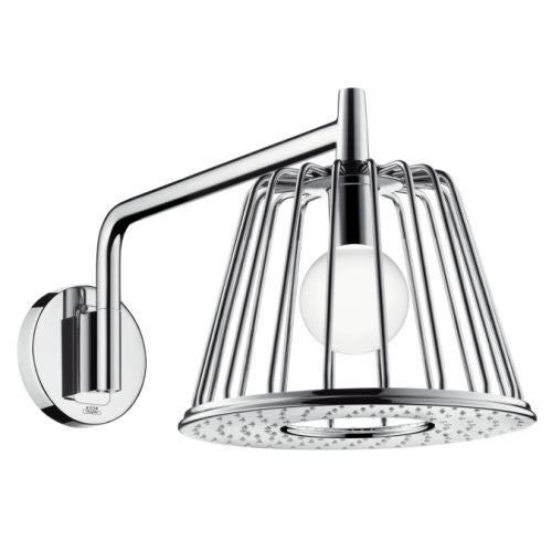Axor 26031 Nendo 2.5 GPM Rain Shower Head with Quick Clean Technology - Includes LED Light Module and Shower Arm
