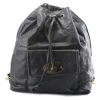 MG Collection Kirsten Drawstring Bucket Tote   Synthetic  Backpack
