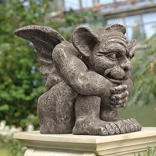 Design Toscano Halloween  Emmett the Gargoyle Sculpture: Small
