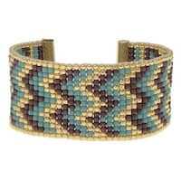 Cascading Chevrons Loom Bracelet - Exclusive Beadaholique Jewelry Kit
