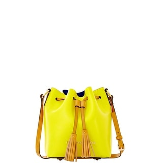 Dooney & Bourke Siena Serena Crossbody (Introduced by Dooney & Bourke at $228 in Mar 2014) - yellow royal blue