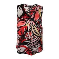 Kasper Women's Printed V-Neck Cami Top