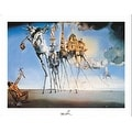 ''The Temptation of St. Anthony'' by Salvador Dali Museum Art Print (11 x 14 in.) - Thumbnail 0
