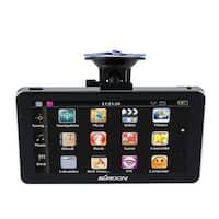 "7"" Portable HD Screen GPS Navigator 128MB RAM 4GB ROM MP3 FM Video Play Car Entertainment System"