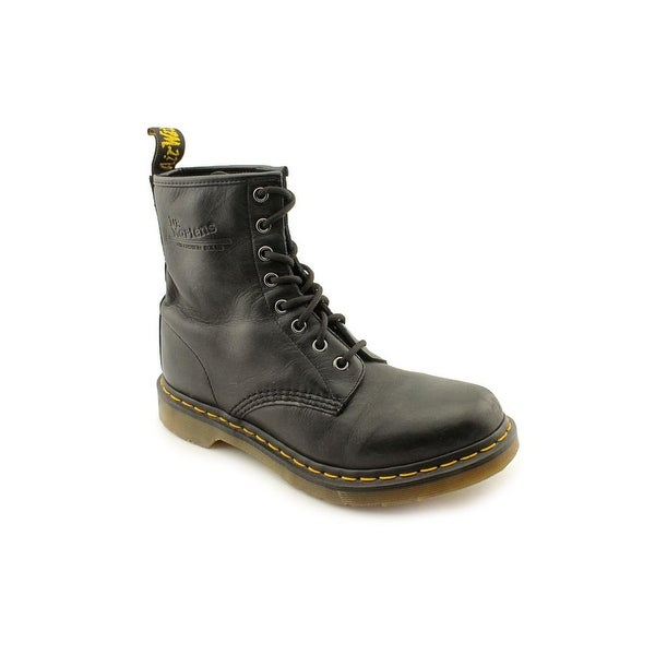 Dr. Martens Air Wair 1460 W Women Round Toe Leather Black Boot
