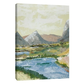 "PTM Images 9-108525  PTM Canvas Collection 10"" x 8"" - ""Open Spaces 7"" Giclee Mountains Art Print on Canvas"