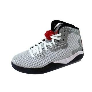 Nike Men's Air Jordan Spike Forty PE White/Fire Red-Black807541-101