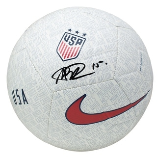 Megan Rapinoe Team USA Signed USA Nike One Nation Soccer Ball JSA