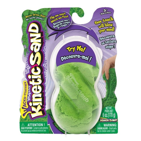 Kenetic Sand 6oz Neon Green