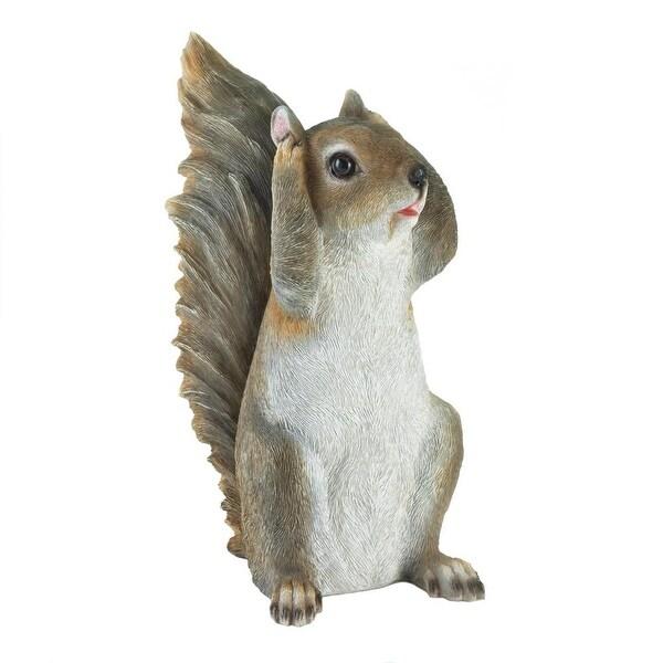 Natural Hear No Evil Squirrel