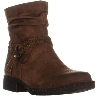 Born Ouvea Braid Ankle Boots, Rust