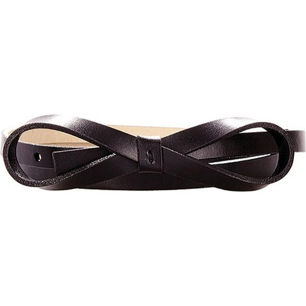 c4633c2fd7e Shop Lodis Women s Audrey Skinny Bow High Waist Belt Black - On Sale - Free  Shipping On Orders Over  45 - Overstock - 25696031