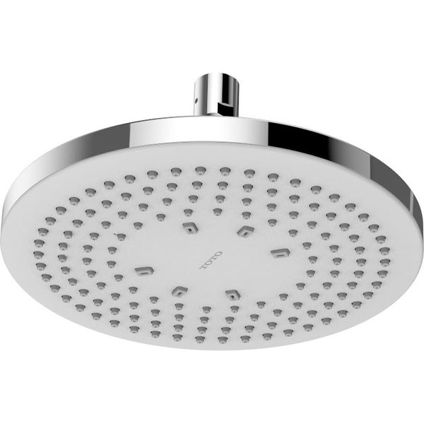 """Toto TBW01003U4 Round Single Function 8.5"""" 1.75 GPM Shower Head with Comfort Wave Technology - Polished Chrome"""