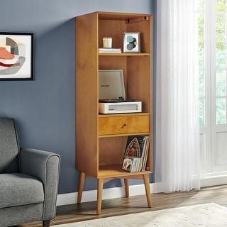 """Landon Record Storage Bookcase - 21.5""""W x 18.5""""D x 68""""H"""