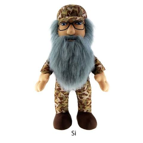 "Duck Dynasty 13"" Plush With Sound Si - multi"