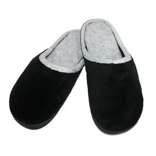 Isotoner Women's Microterry Wide Width Clog Slippers|https://ak1.ostkcdn.com/images/products/is/images/direct/63971c5ec0ab2e9917fa48666738fcbbb1e88fe1/Isotoner-Women%27s-Microterry-Wide-Width-Clog-Slippers.jpg?impolicy=medium