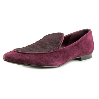 Marc Fisher Tanialy Women Round Toe Suede Loafer