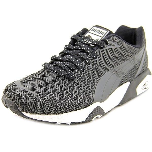 Puma R698 Bonded TPU Kurim Men  Round Toe Synthetic Gray Sneakers