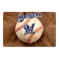 Milwaukee Brewers Pet Bowl Mat