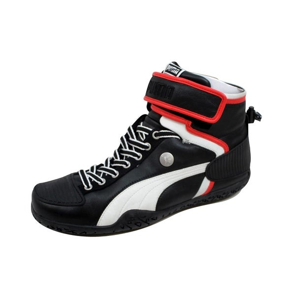 Puma Men's My 45 Black/White-Fiery Red 348668 01