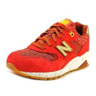 New Balance WRT580 Women Round Toe Suede Sneakers