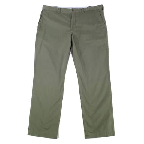 Polo Ralph Lauren Mens Pants Green Size 42X32 Straight Chino Stretch