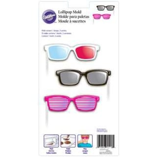Candy Mold-Sweet Shades 3 Cavity (1 Design)