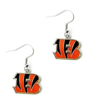 Cincinnati Bengals Dangle Logo Earring Set Charm Gift NFL