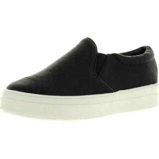 Cape Robbin Adelaide-Yx-2 Women's Slip On Loafer Flats Shoes - Black