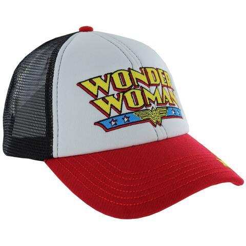 DC Comics Classic Wonder Woman Trucker Mesh Hat